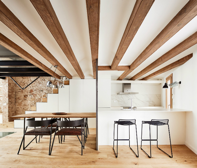 Dezeen Awards dezeen awards Interiors shortlist: Dezeen Awards 2018 Triplex at Sant Antoni 2