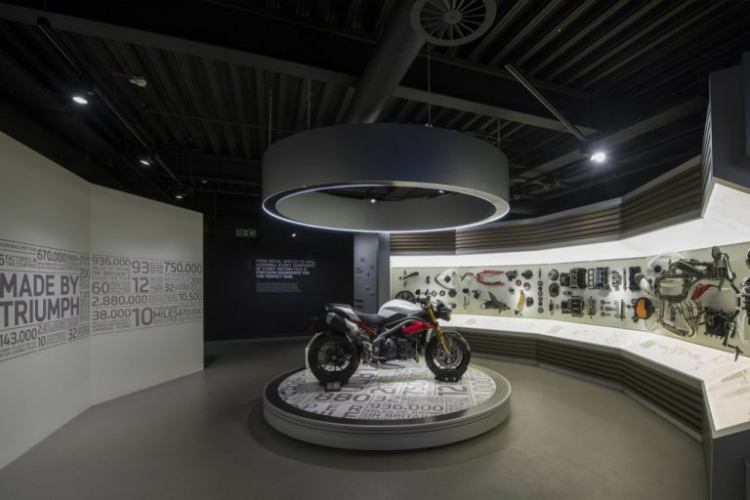 SBID sbid SBID 2018: International Design Excellence Awards Triumph Factory Visitor Experience 2