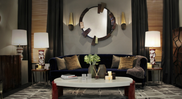 Stunning wall mirrors for your living room
