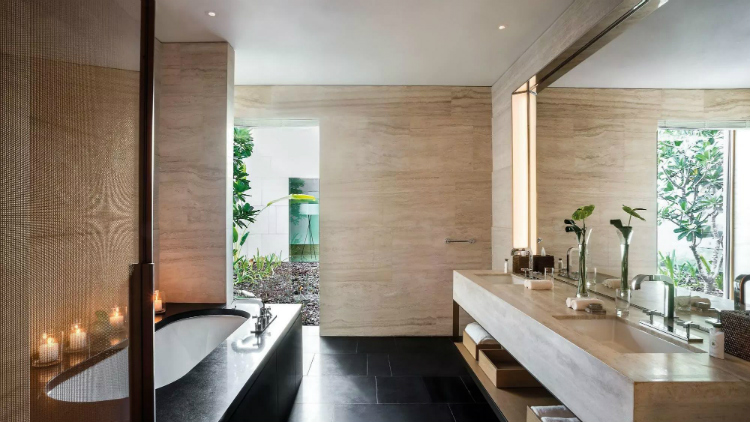 ahead awards AHEAD Awards: The incredible winning spaces and designers bulgari hotel and resorts dubai classic bathroom