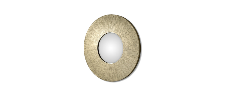 wall mirrors Stunning wall mirrors for your living room huli mirror 2