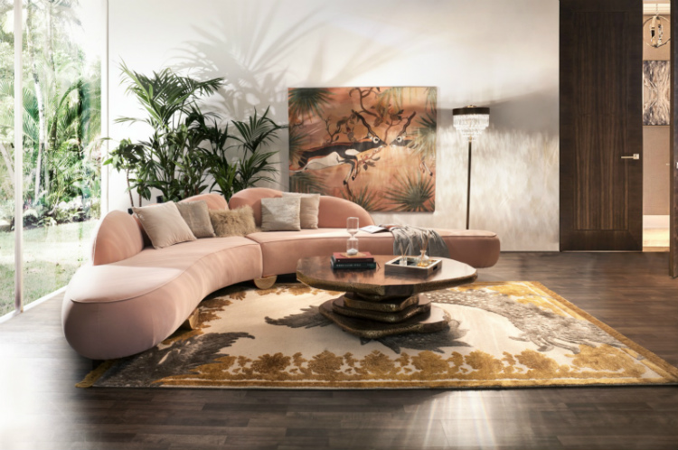 interior design trends Here are the Interior Design Trends for 2019! Fitzroy sofa 1