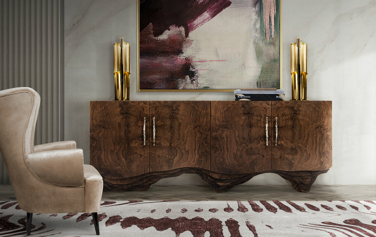 Emerge With Us in These Inspiring 2019 Interior Design Trends 2019 interior design trends Emerge With Us in These Inspiring 2019 Interior Design Trends HUANG Sideboard by BRABBU 1
