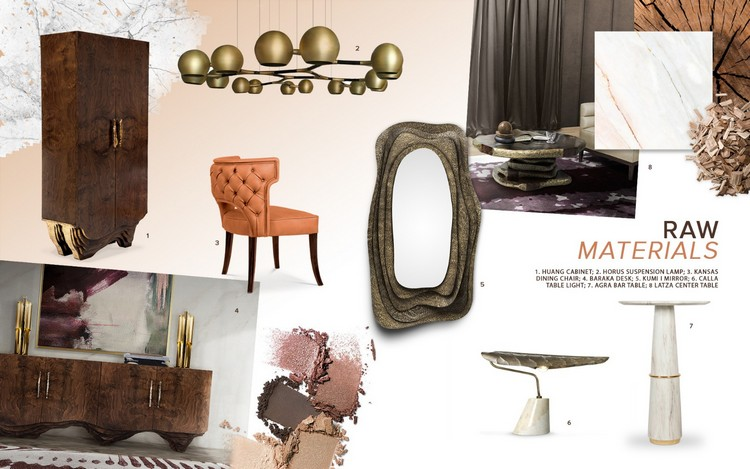 The 2019 Interior Design Trends 2019 interior design trends The 2019 Interior Design Trends – World of Interior Design Moodboard 10