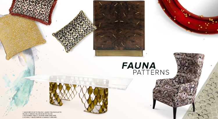 2019 interior design trends 2019 Interior Design Trends: Fauna Patterns 2019 Interior Design Trends Fauna Patterns
