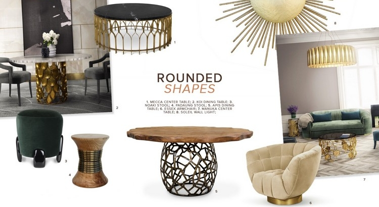 2019 Interior Design Trends Rounded Shapes