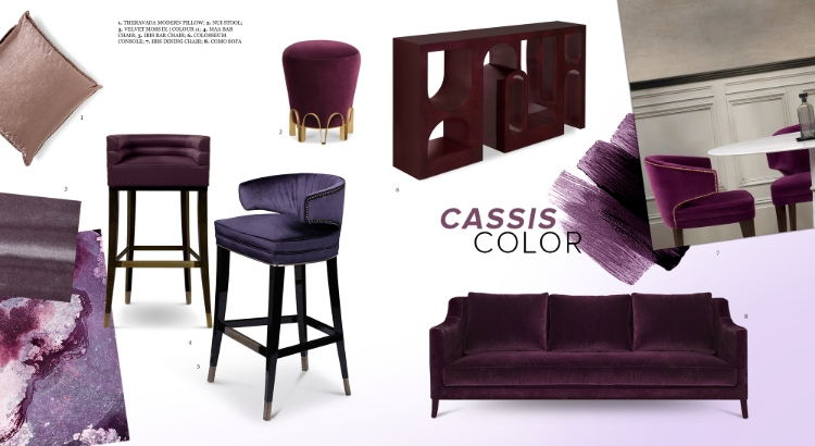 2019 interior design trends 2019 Interior Design Trends: Cassis Color Cassic Color 1 1