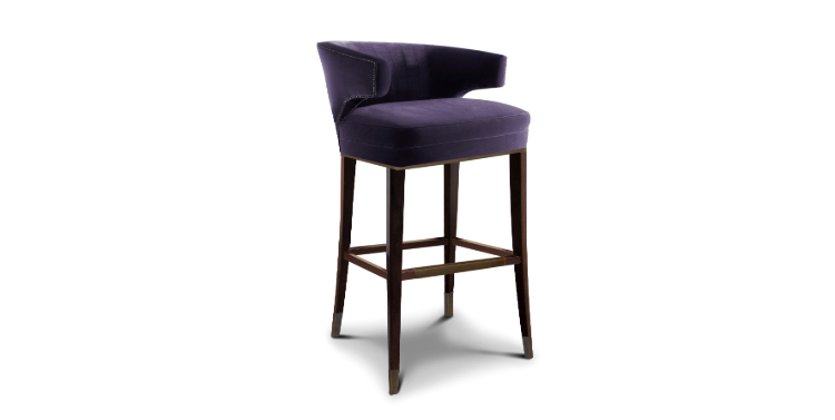 2019 Interior Design Trends 2019 interior design trends 2019 Interior Design Trends: Cassis Color Ibis Bar Chair