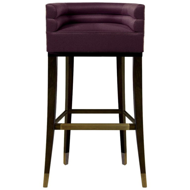 2019 Interior Design Trends 2019 interior design trends 2019 Interior Design Trends: Cassis Color Maa Bar Chair