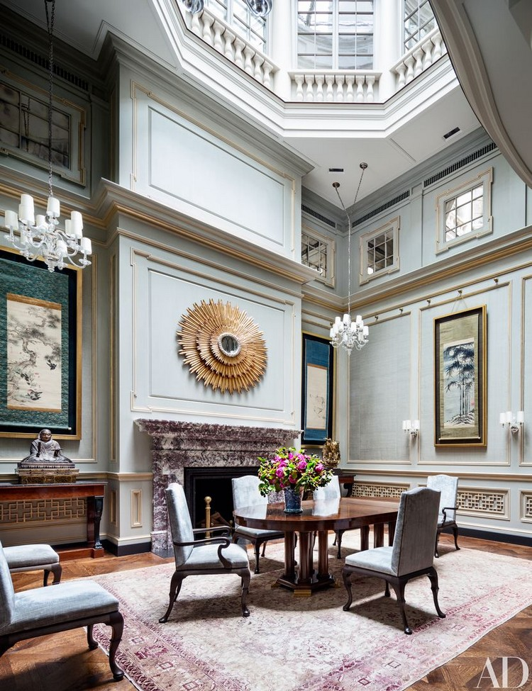 interior design The Magnificent Interior Design of Sawyer | Berson TOWNHOUSE ON EAST 80TH STREET