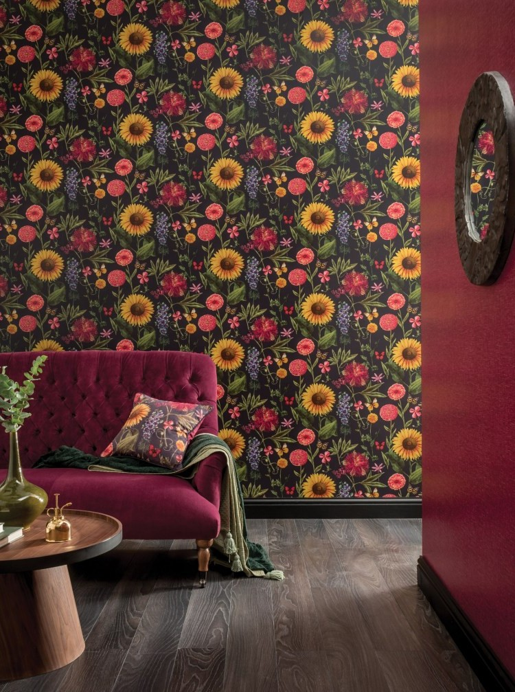 trend trend Top 7 Interior Design Trends of 2019 ARTHOUSE 1943054 SummerGardenCharcoal