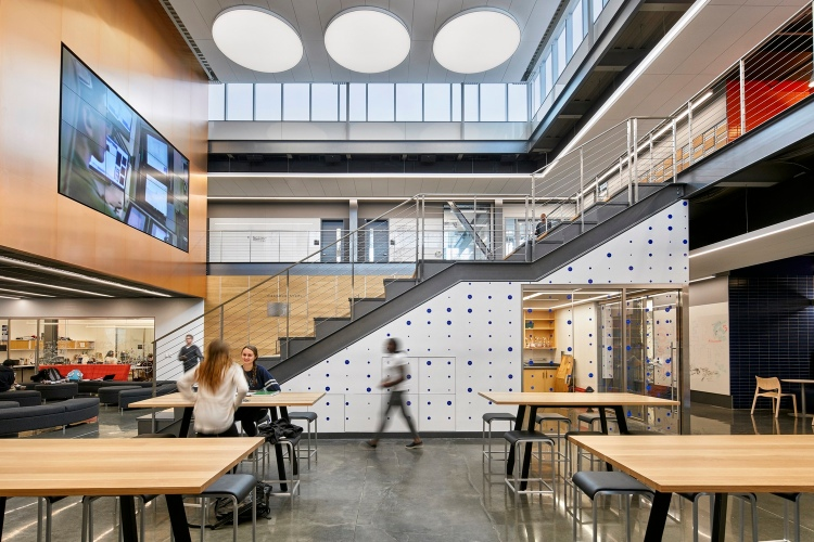 gensler Gensler: Design is Transformative Dwight Englewood School Hajjar STEM Center