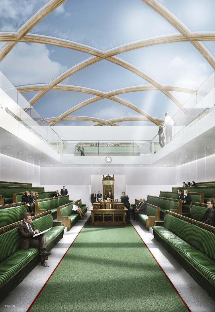 gensler Gensler: Design is Transformative Houses of Parliament Interior