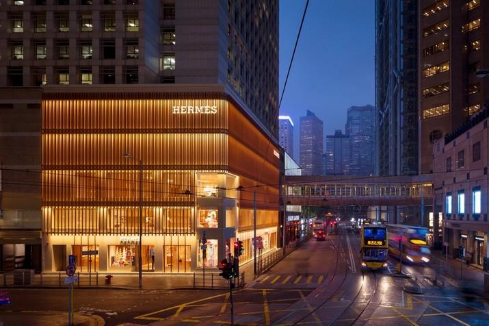 hermès The Hermès Showroom by RDAI Paris at Hong Kong Le Magasins dHerm  s    Hong Long par RDAI Paris 1