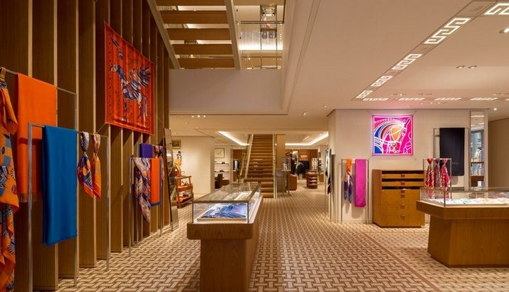 hermès The Hermès Showroom by RDAI Paris at Hong Kong Le Magasins dHerm  s    Hong Long par RDAI Paris 2 715x410