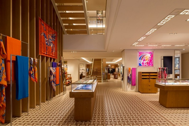hermès The Hermès Showroom by RDAI Paris at Hong Kong Le Magasins dHerm  s    Hong Long par RDAI Paris 2