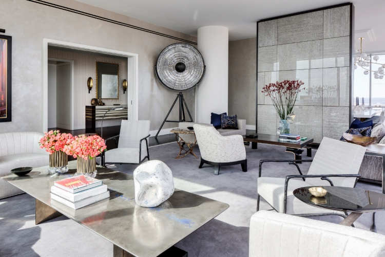 drake/anderson Drake/Anderson: Interior Design Meets Modernism and History Midtown Residence     New York NY 2
