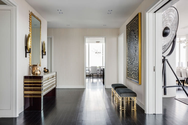 drake/anderson Drake/Anderson: Interior Design Meets Modernism and History Midtown Residence     New York NY