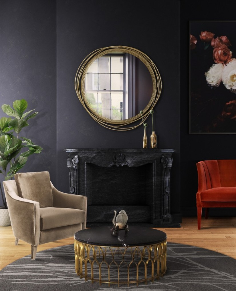 trend trend Top 7 Interior Design Trends of 2019 Remarkable Wall Mirrors That Add Interest 1