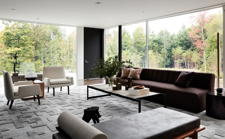 drake/anderson Drake/Anderson: Interior Design Meets Modernism and History Upstate New York Weekend Residence     New York 2
