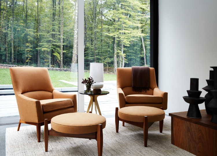 drake/anderson Drake/Anderson: Interior Design Meets Modernism and History Upstate New York Weekend Residence     New York 3