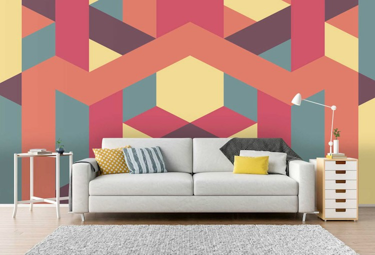 trend trend Top 7 Interior Design Trends of 2019 geometric patterns