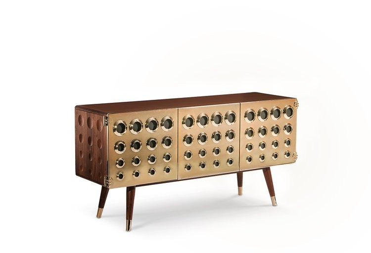 bredaquaranta Contemporary and mid-century style by Bredaquaranta monocles sideboard 02 HR master
