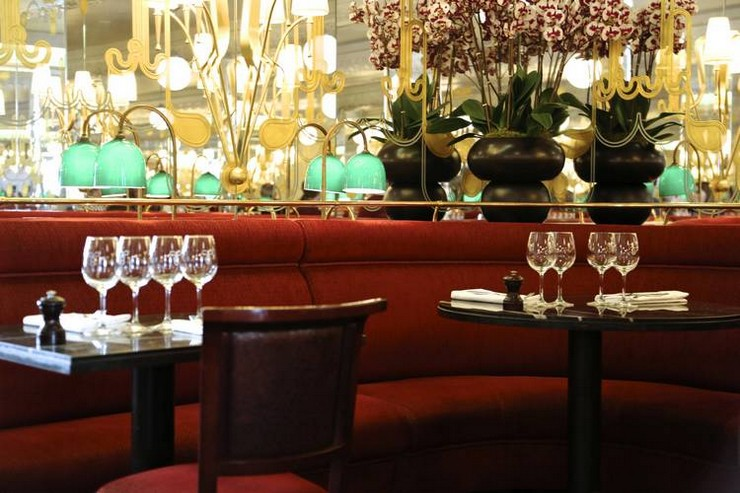 india mahdavi Best Interior Design Projects by India Mahdavi 11 India Mahdavi  H  tel Thoumieux