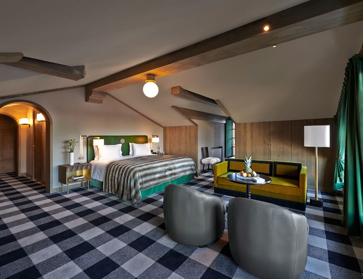 india mahdavi Best Interior Design Projects by India Mahdavi 12 India Mahdavi LApog  e Courchevel