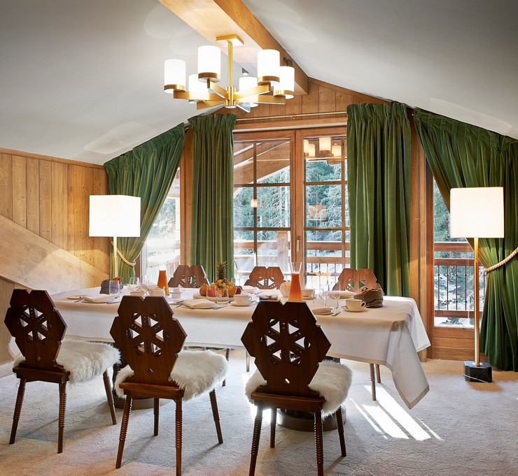 india mahdavi Best Interior Design Projects by India Mahdavi 13 India Mahdavi LApog  e Courchevel