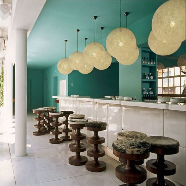 india mahdavi Best Interior Design Projects by India Mahdavi 17 India Mahdavi Hotel Condesa D