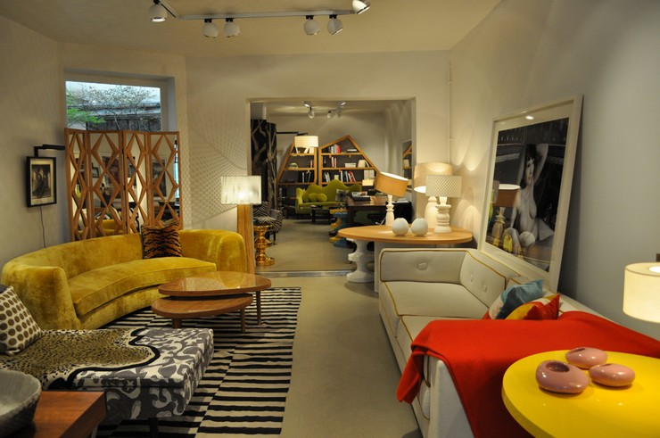 india mahdavi Best Interior Design Projects by India Mahdavi 2 India Mahdavi Atelier Les Germanopratines