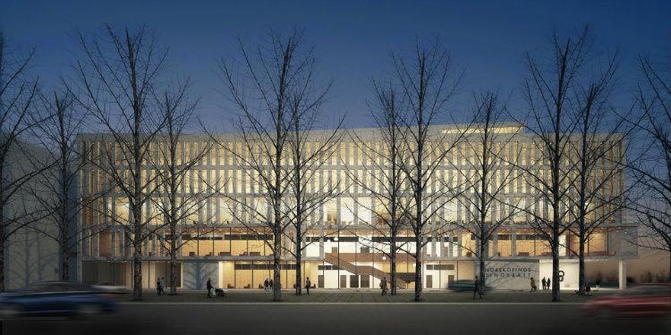 Ahrbom and Partner - Norrkopingstingsratt ahrbom and partner Ahrbom and Partner: Architecture and Environment AhrbomPartner Norrkopingstingsratt