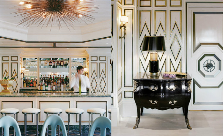 kelly wearstler Top Interior Designers | Kelly Wearstler Bergdorf Goodman Restaurant