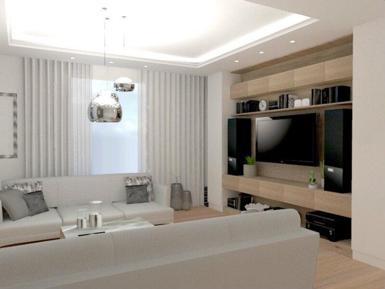 Bianco Nero Design - Apartment in Zoliborz bianco nero design Bianco Nero Design: Design Aesthetics Bianco Nero Design Apartment in Zoliborz