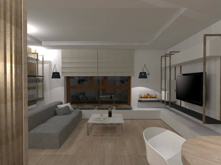 Bianco Nero Design - Flat for Singles bianco nero design Bianco Nero Design: Design Aesthetics Bianco Nero Design Flat for Singles 1