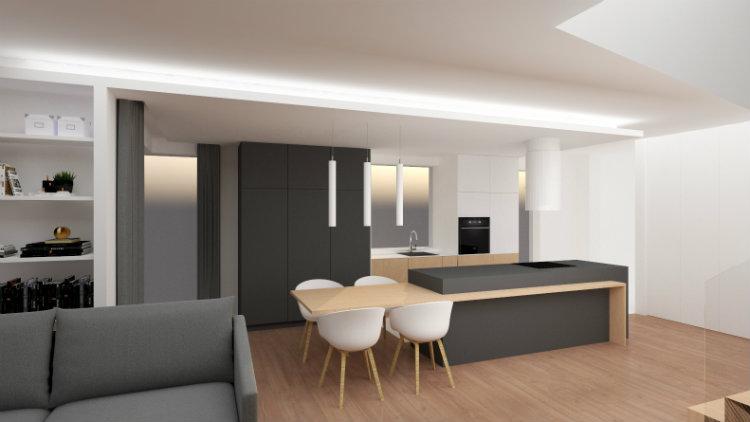 Bianco Nero Design - House in Mysiadle bianco nero design Bianco Nero Design: Design Aesthetics Bianco Nero Design House in Mysiadle