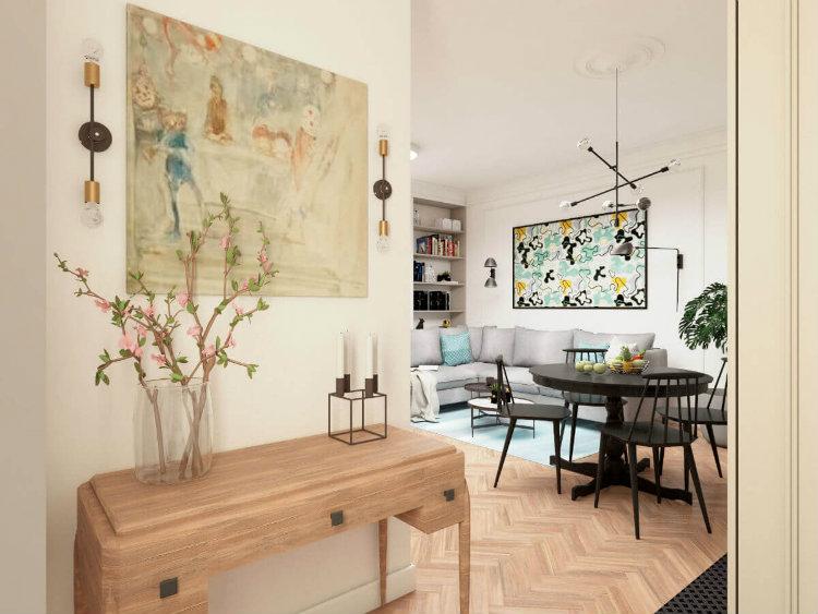 Bianco Nero Design - Studio Apartment bianco nero design Bianco Nero Design: Design Aesthetics Bianco Nero Design Studio Apartment