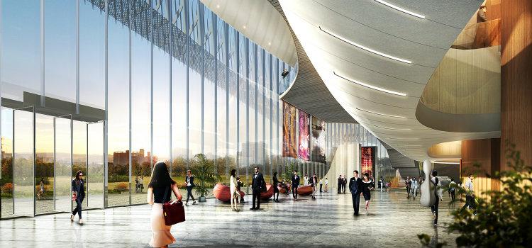 Haeahn - Busan International Arts Centre haeahn Haeahn: Architecture for the Environment Haeahn Busan International Arts Centre