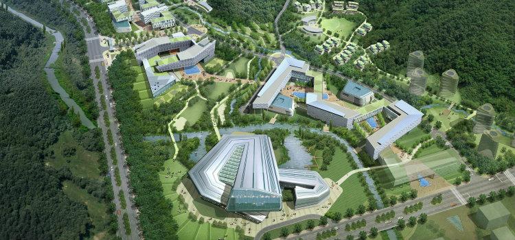 Haeahn - Korea Basic Science Institute haeahn Haeahn: Architecture for the Environment Haeahn Korea Basic Science Institute