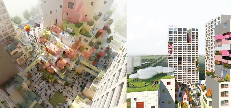 Haeahn -Webtoon Fusion Centre and Bucheon Video Youth Artist Housing haeahn Haeahn: Architecture for the Environment Haeahn Webtoon Fusion Centre and Bucheon Video Youth Artist Housing