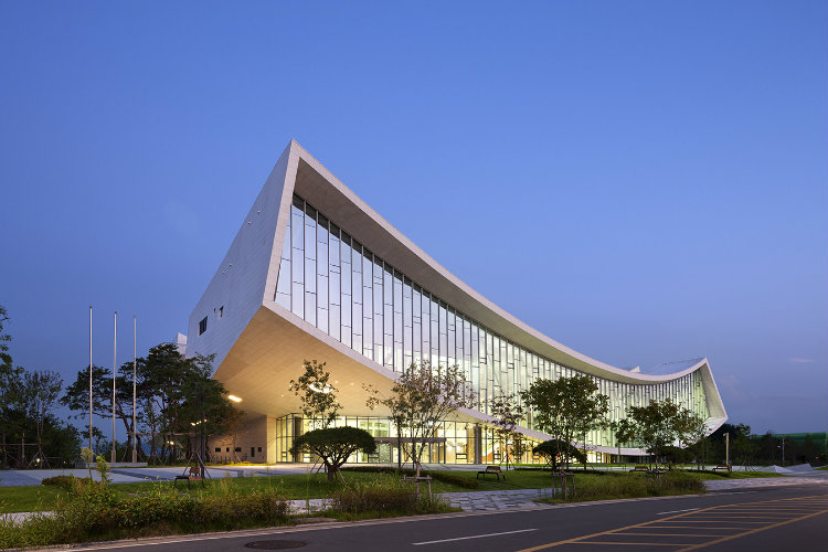 samoo Samoo: Environment Friendly Architectural Legacy Samoo National Library of Korea Sejong