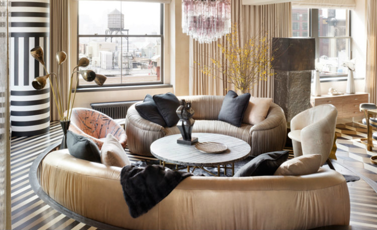 kelly wearstler Top Interior Designers | Kelly Wearstler Spring street residence