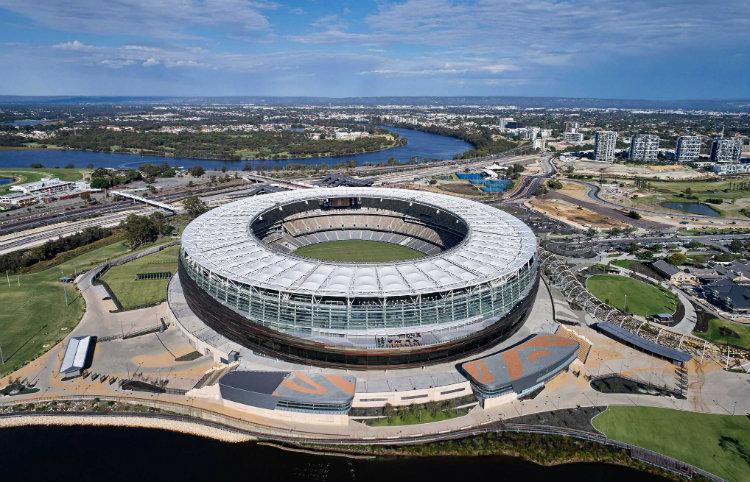 HKS Architects - Optus Stadium hks architects HKS Architects: Purposefully Designing a Better World HKS Architects Optus Stadium