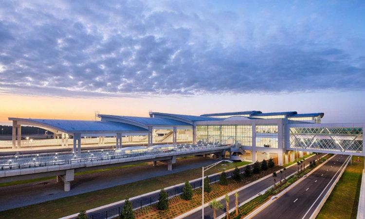 HKS Architects - Orlando International Airport hks architects HKS Architects: Purposefully Designing a Better World HKS Architects Orlando International Airport