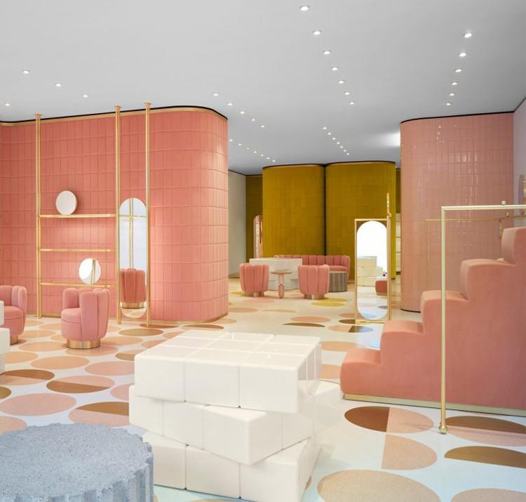 Top 20 Interior Designers Paris -India Mahdavi interior designers Top 20 Interior Designers Paris redvalentino store india mahdavi roma london