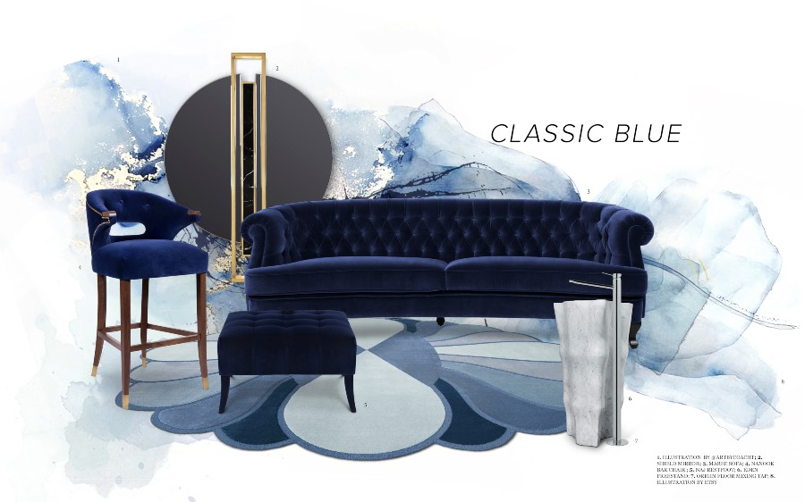 pantone Pantone's Colour of the Year – Classic Blue Pantones Colour of the Year Classic Blue 1 1