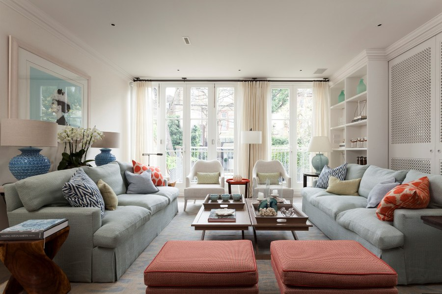 Melissa and Miller Interiors and the Luxurious London House