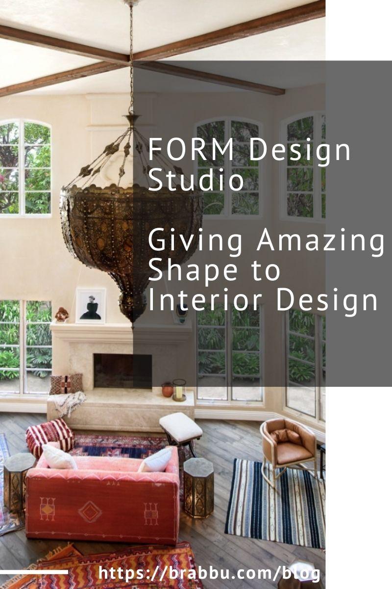 form design studio Form Design Studio, Giving Amazing Shape to Interior Design Form Design Studio Giving Amazing Shape to Interior Design 1 1