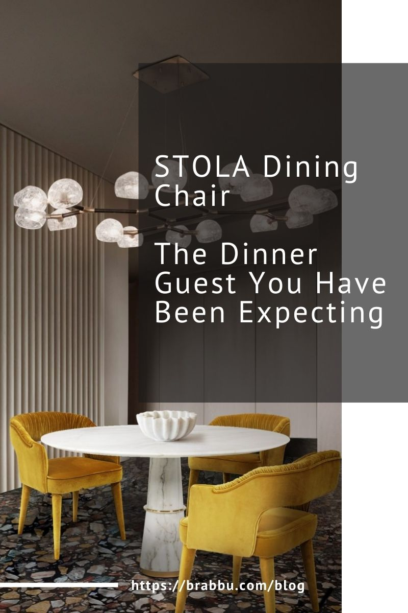 stola dining chair STOLA Dining Chair, The Dinner Guest You Have Been Expecting STOLA Dining Chair The Dinner Guest You Have Been Expecting 1 2